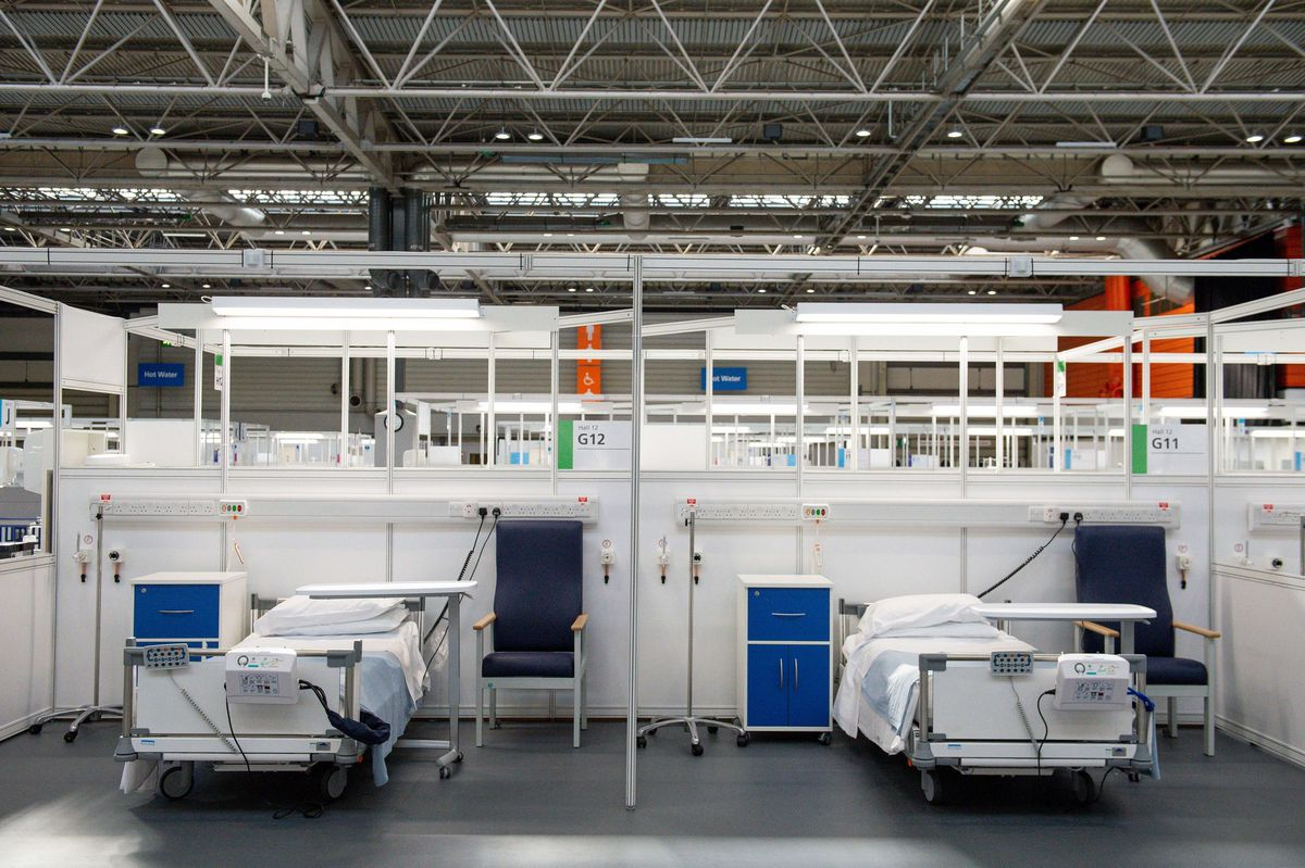 Inside the NEC Nightingale Hospital