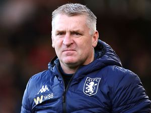 File photo dated 01-02-2020 of Aston Villa manager Dean Smith. PA Photo. Issue date: Thursday January 7, 2021. Aston Villa have closed their training ground ahead of Friday night   s FA Cup third-round clash with Liverpool after    a large number    of players and staff tested positive for coronavirus. See PA Story SOCCER Coronavirus . Photo credit should read: Mark Kerton/PA Wire