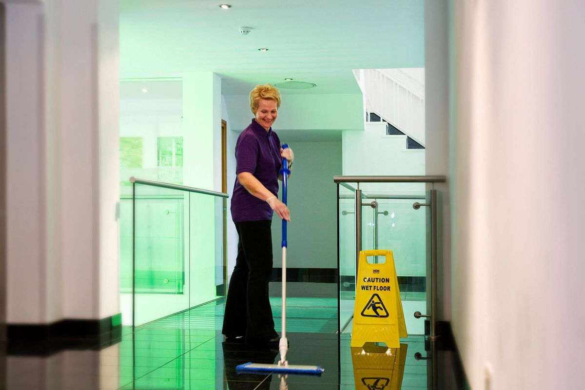 Interserve has many cleaning and maintenance contracts