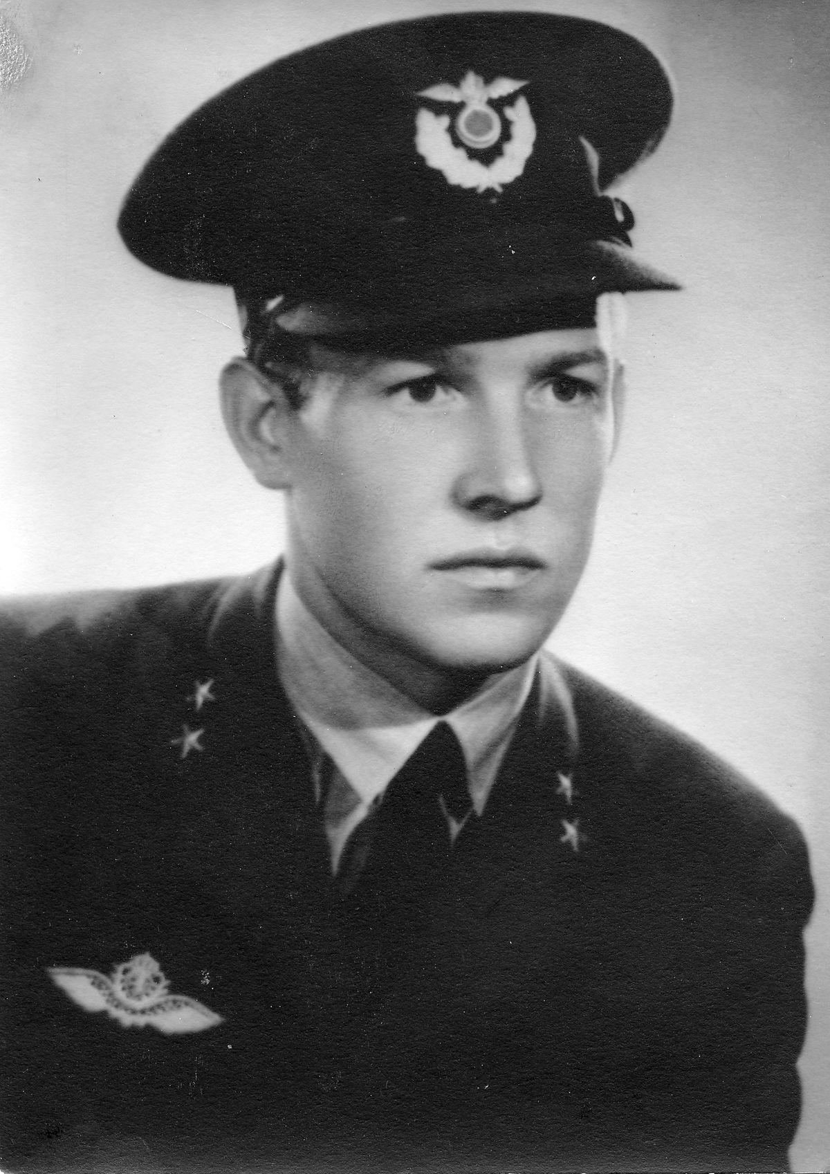 "Norwegian pilot Flight Lieutenant Karl ""Kai"" Theodore Jacobsen."
