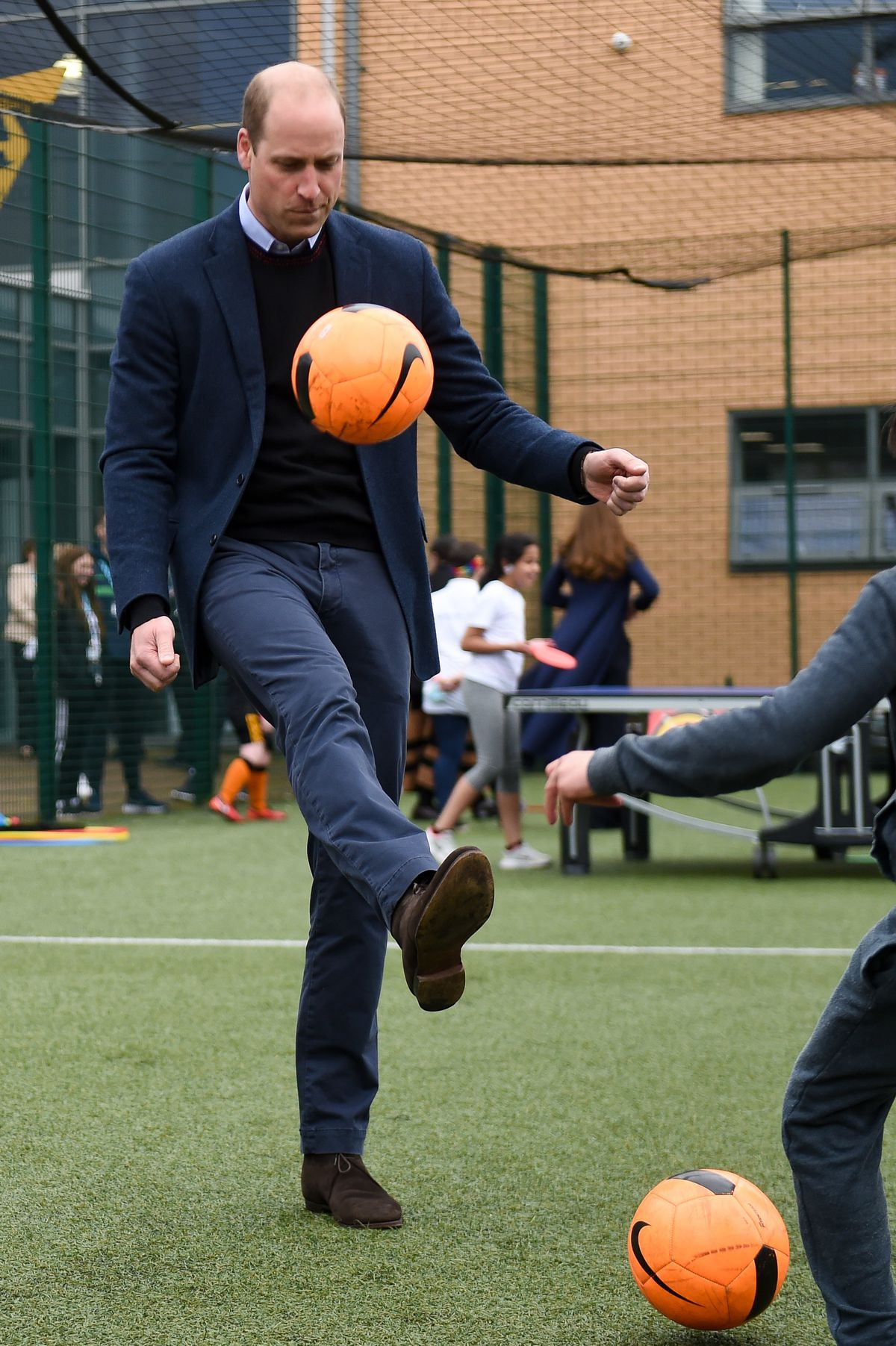 Keepy uppy from Prince William