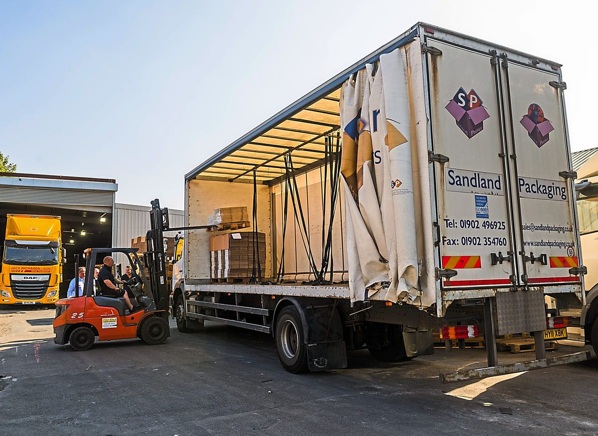 Bilston's Sandland Packaging is investing in a new machine to finish cardboard boxes
