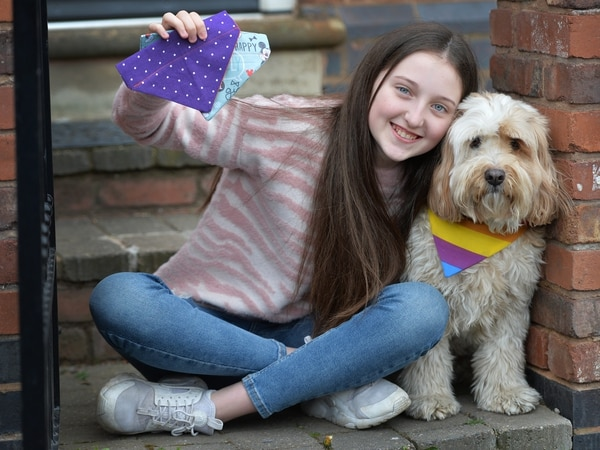 Midland family get crafty for furry friends