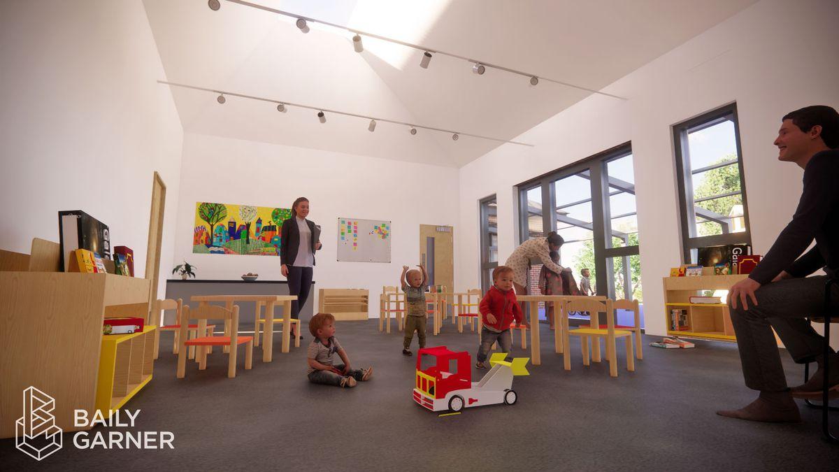 Proposed nursery classroom
