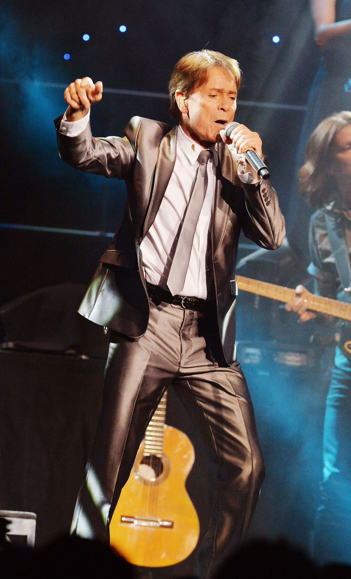 Cliff Richard performing in 2015