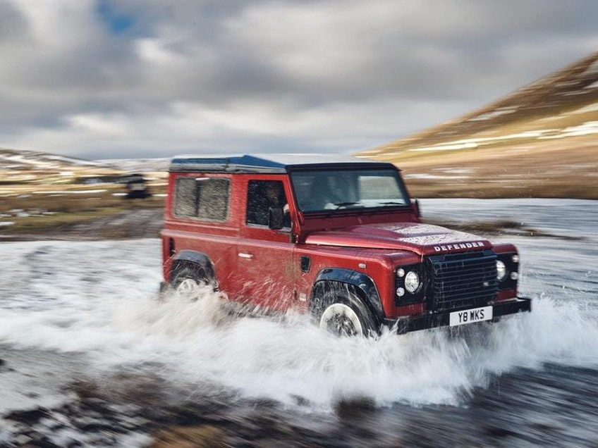 First Drive: Land Rover's reborn Works V8 Defender is unashamedly old-school… and rather endearing