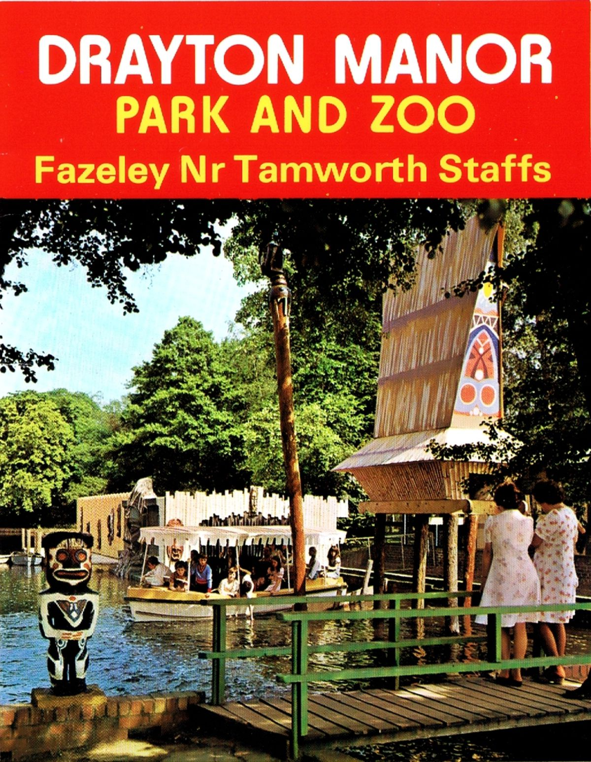 Former Drayton Manor leaflets