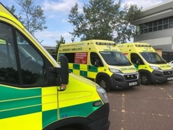 West Midlands Ambulance Service to spend £40m on new vehicles