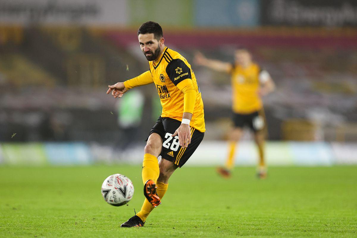 Joao Moutinho of Wolverhampton Wanderers (AMA)