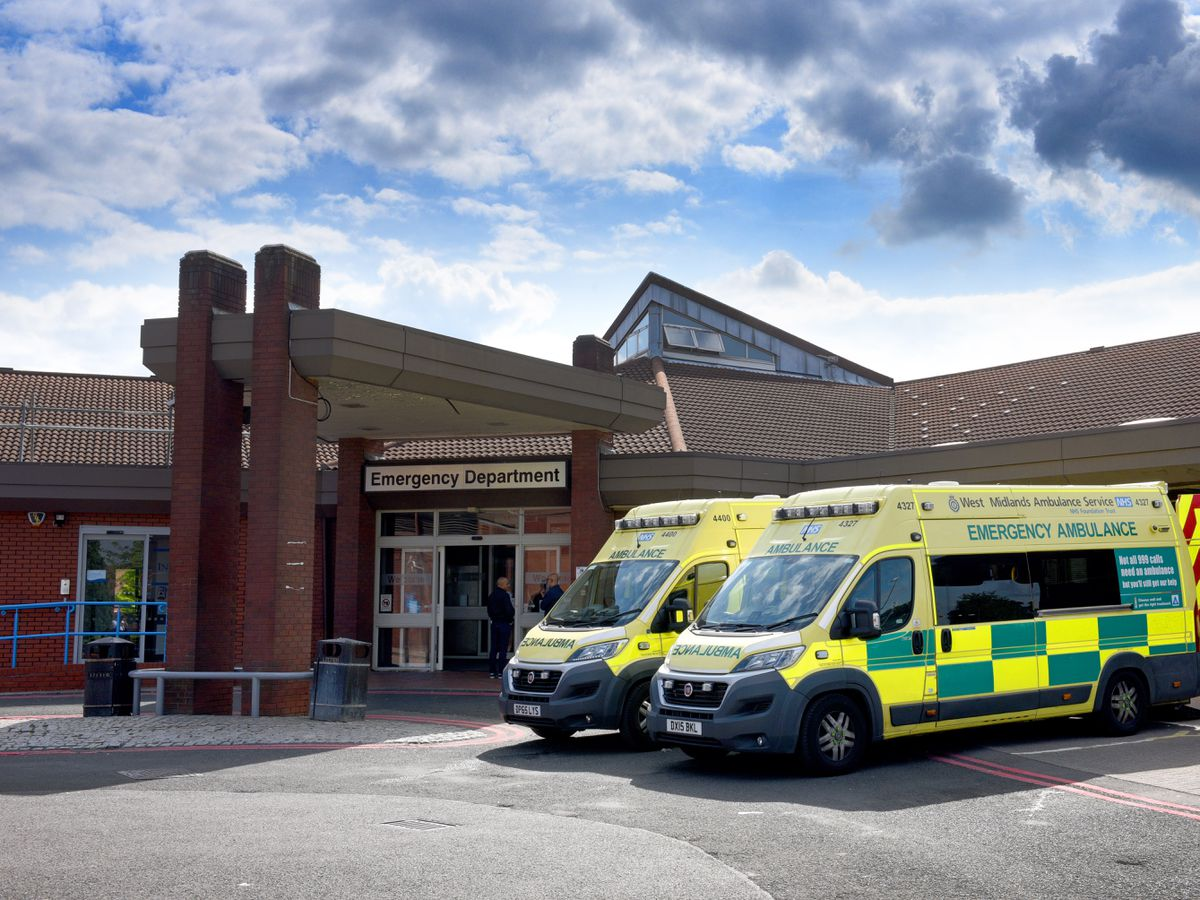 WALSALL COPYRIGHT EXPRESS&STAR TIM THURSFIELD 02/08/19.Stock pics of Walsall Manor Hospital..