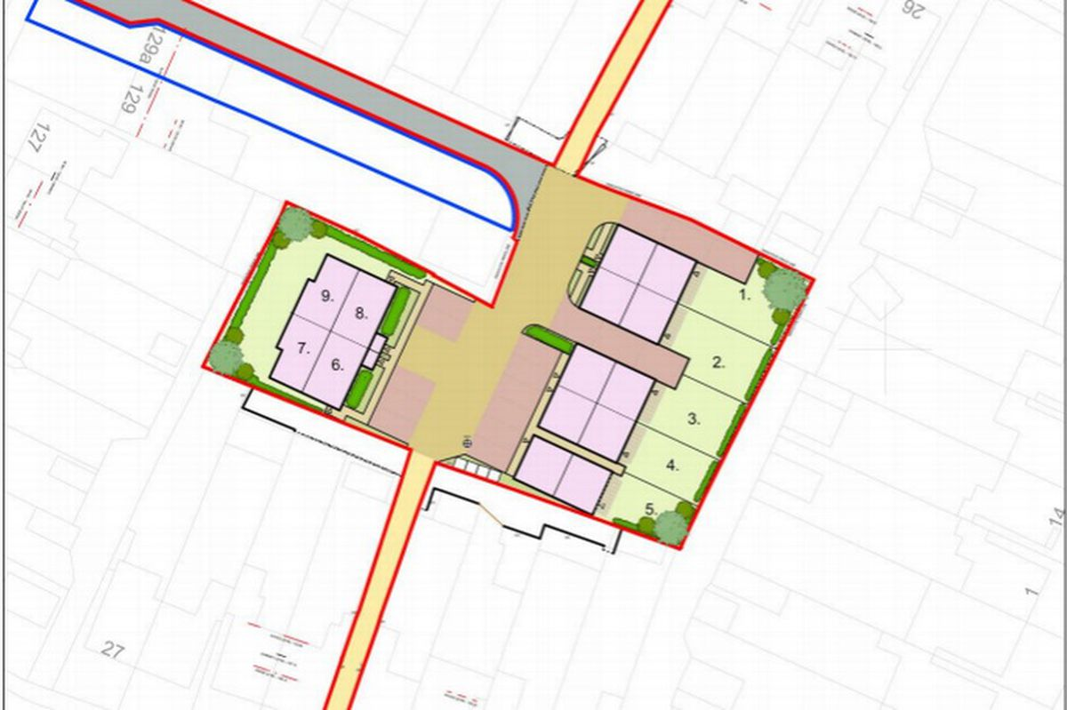 The plans for the land in West Bromwich