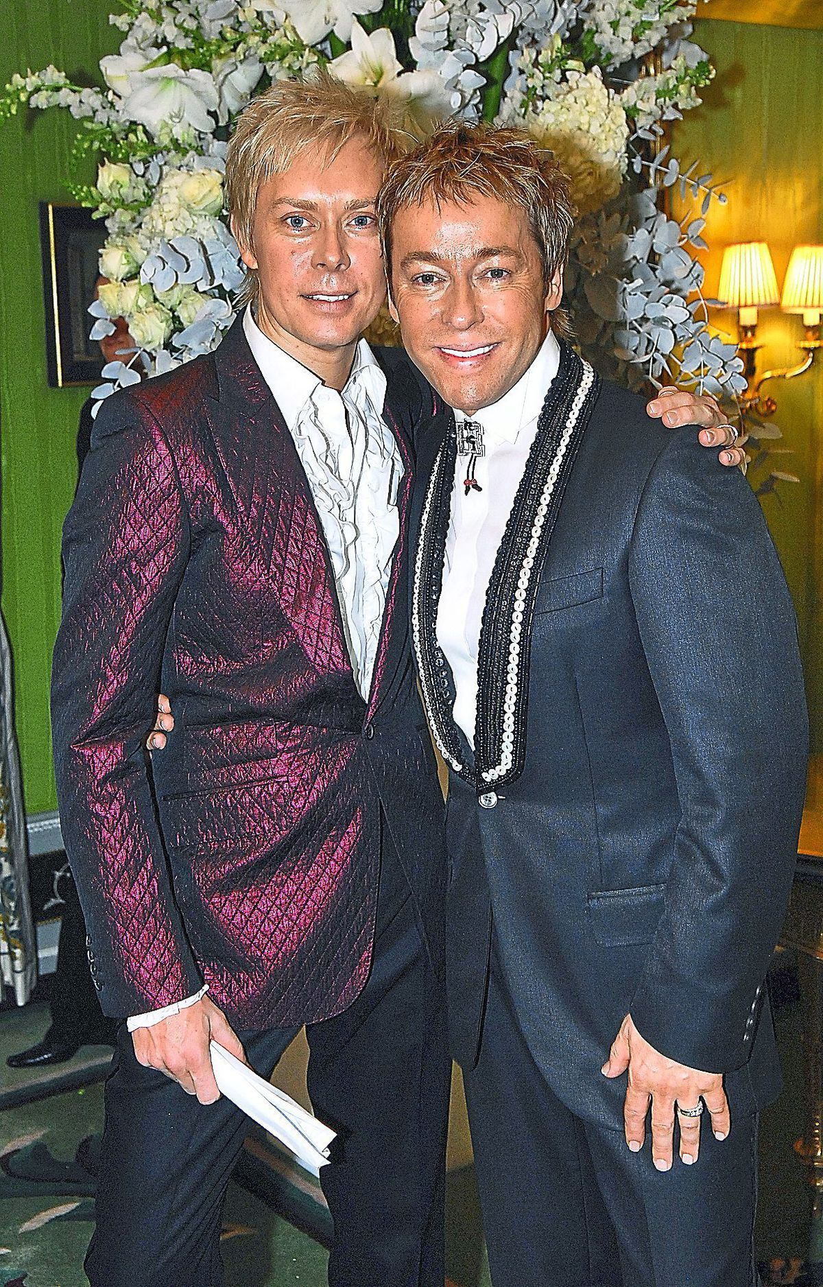 The wedding of Royston Blythe and Nick Malenko at the Dorchester Hotel, London in 2006