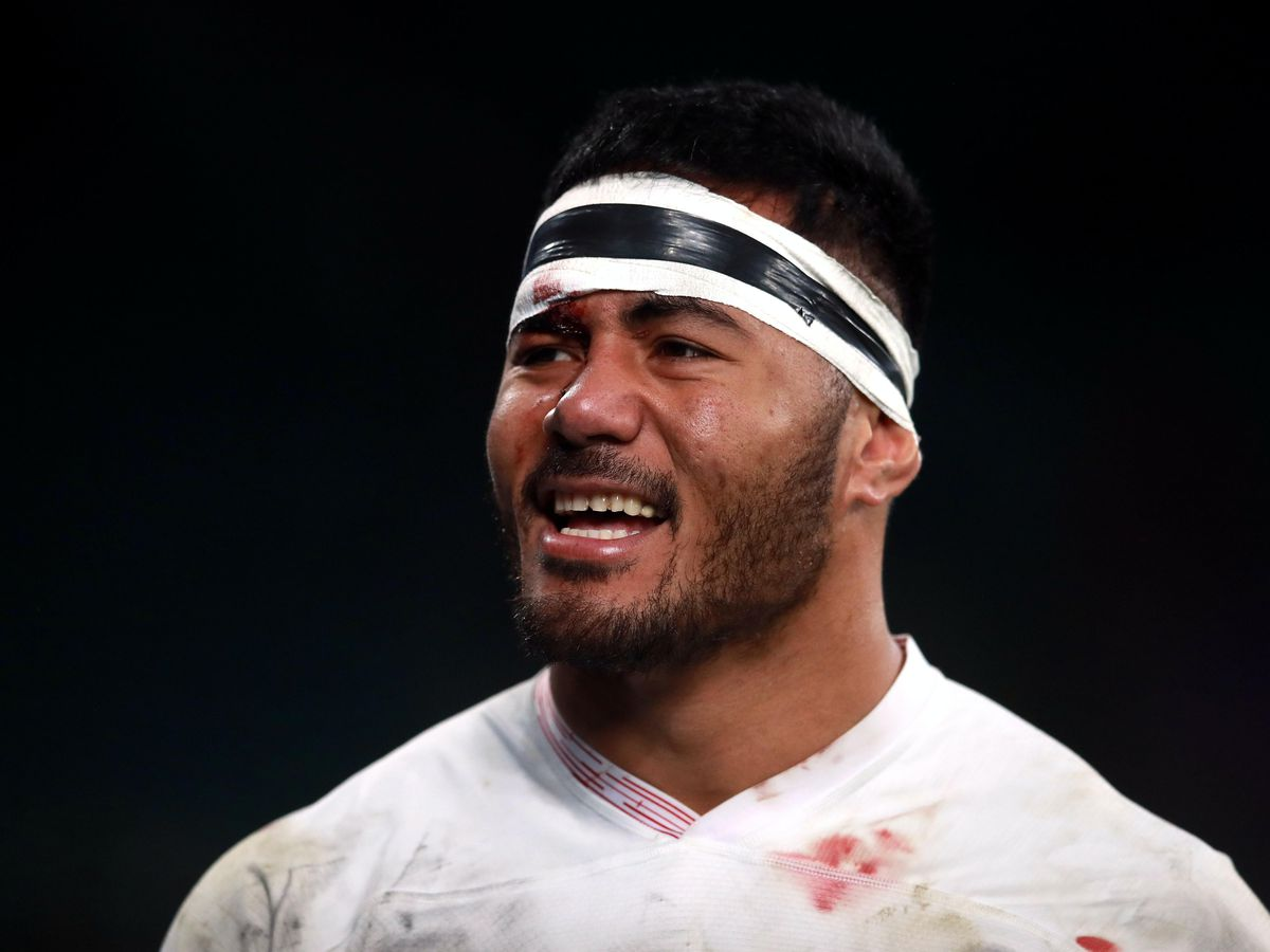 Manu Tuilagi, pictured, has joined Sale Sharks after leaving boyhood club Leicester Tigers
