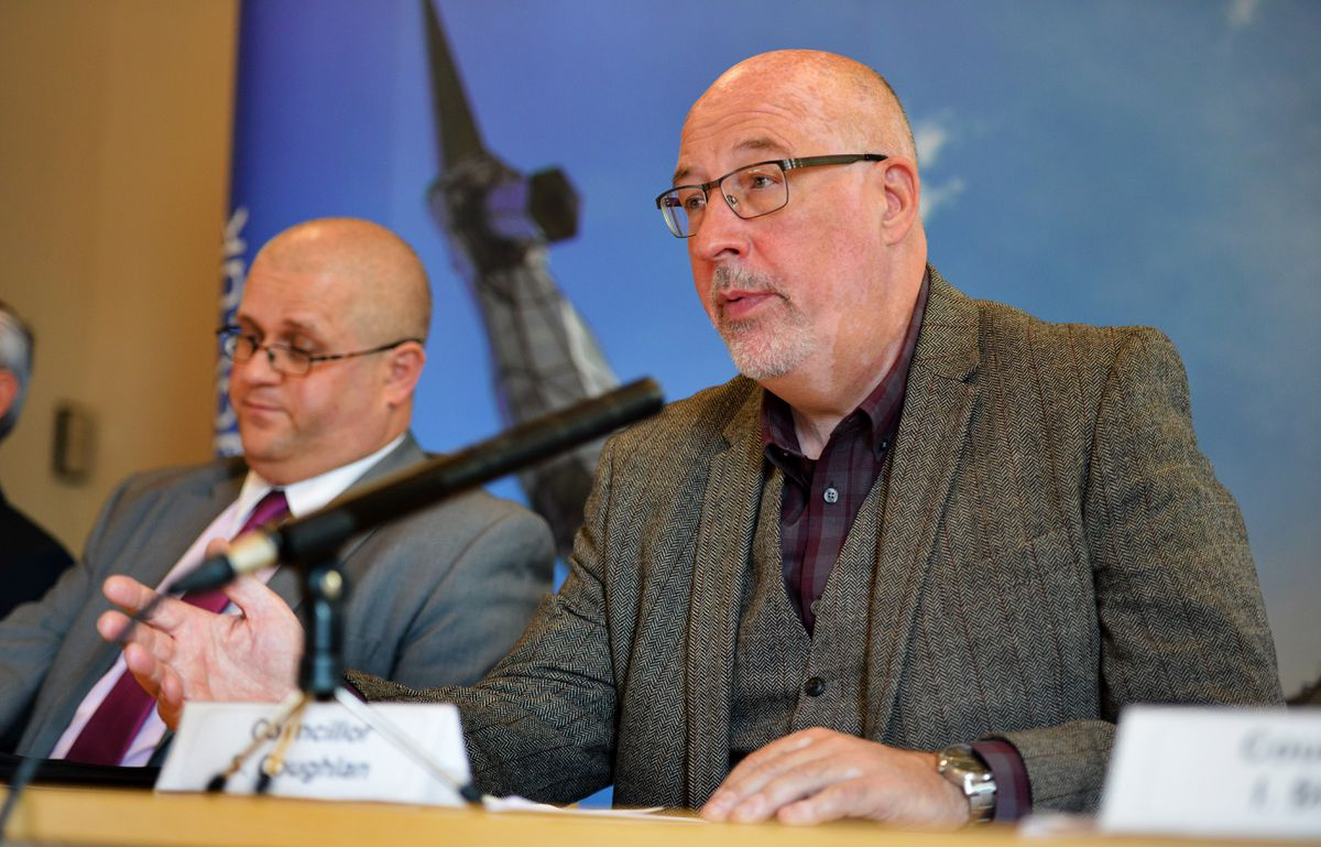 Councillor Sean Coughlan