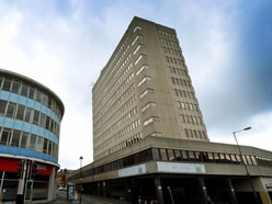 Work on Walsall's tallest tower is off to a flying start