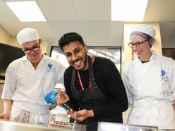 Top Birmingham pastry chef visits Halesowen college students
