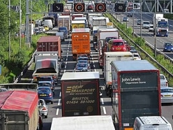 Drivers set for four years of misery as M6 work gets underway next month