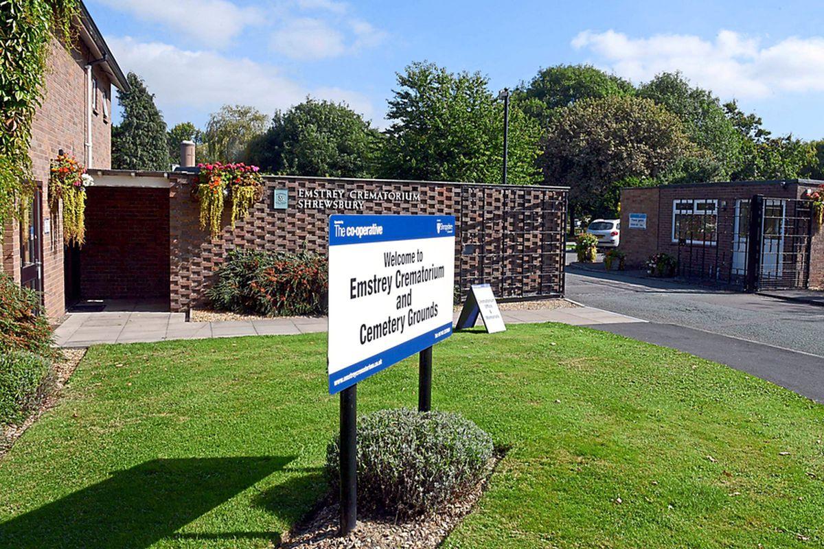 Emstrey Crematorium, Shrewsbury