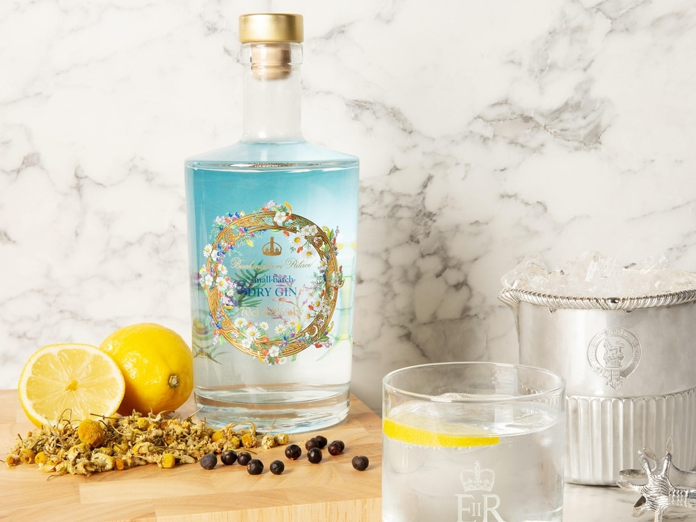 Queen sells her own homemade gin after losing millions