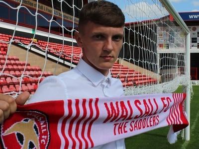 Teenage striker Mitch Candlin signs three-year deal at Walsall
