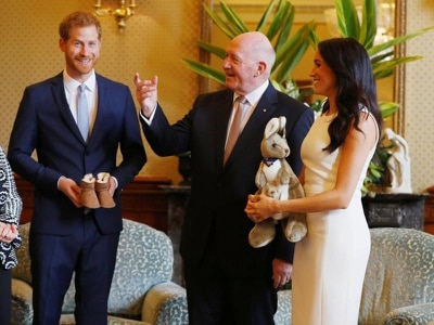 Meghan and Harry delighted by unusual gift