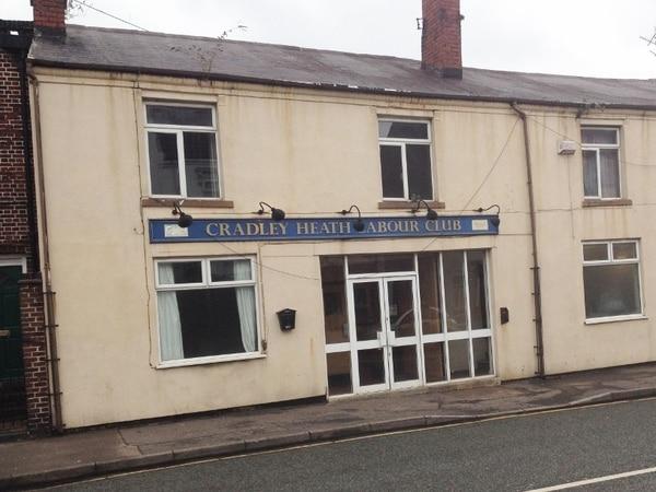 Bar and grill plan for former Cradley Heath Labour Club