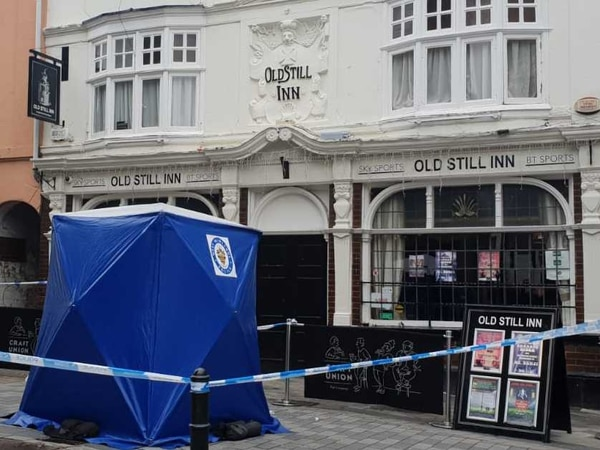 Police seal off Wolverhampton pub after Saturday night incident