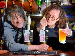 Ned's Atomic Dustbin's Jonn Penney and The Wonder Stuff's Miles Hunt launch new ale - in pictures and video