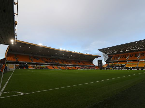 GV / general view of the pitch at Molineux Stadium the home of Wolverhampton Wanderers. (AMA)