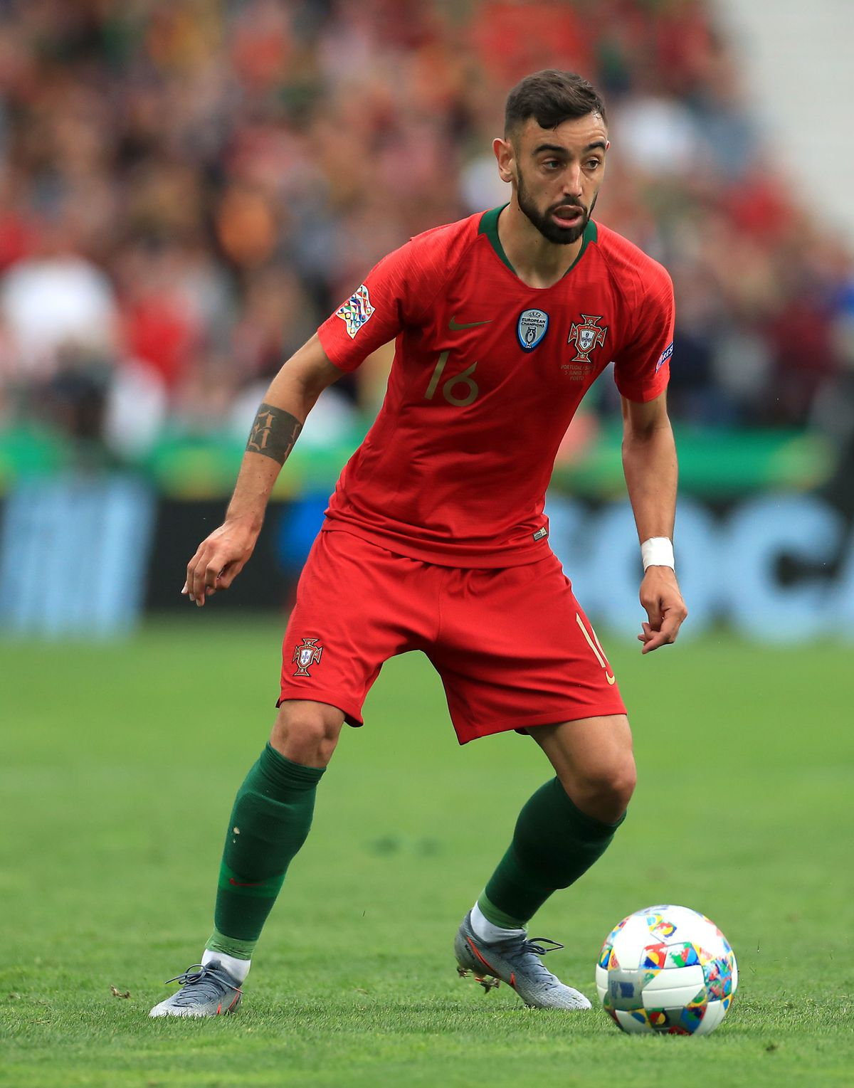 Bruno Fernandes. Photo credit: Mike Egerton/PA Wire..