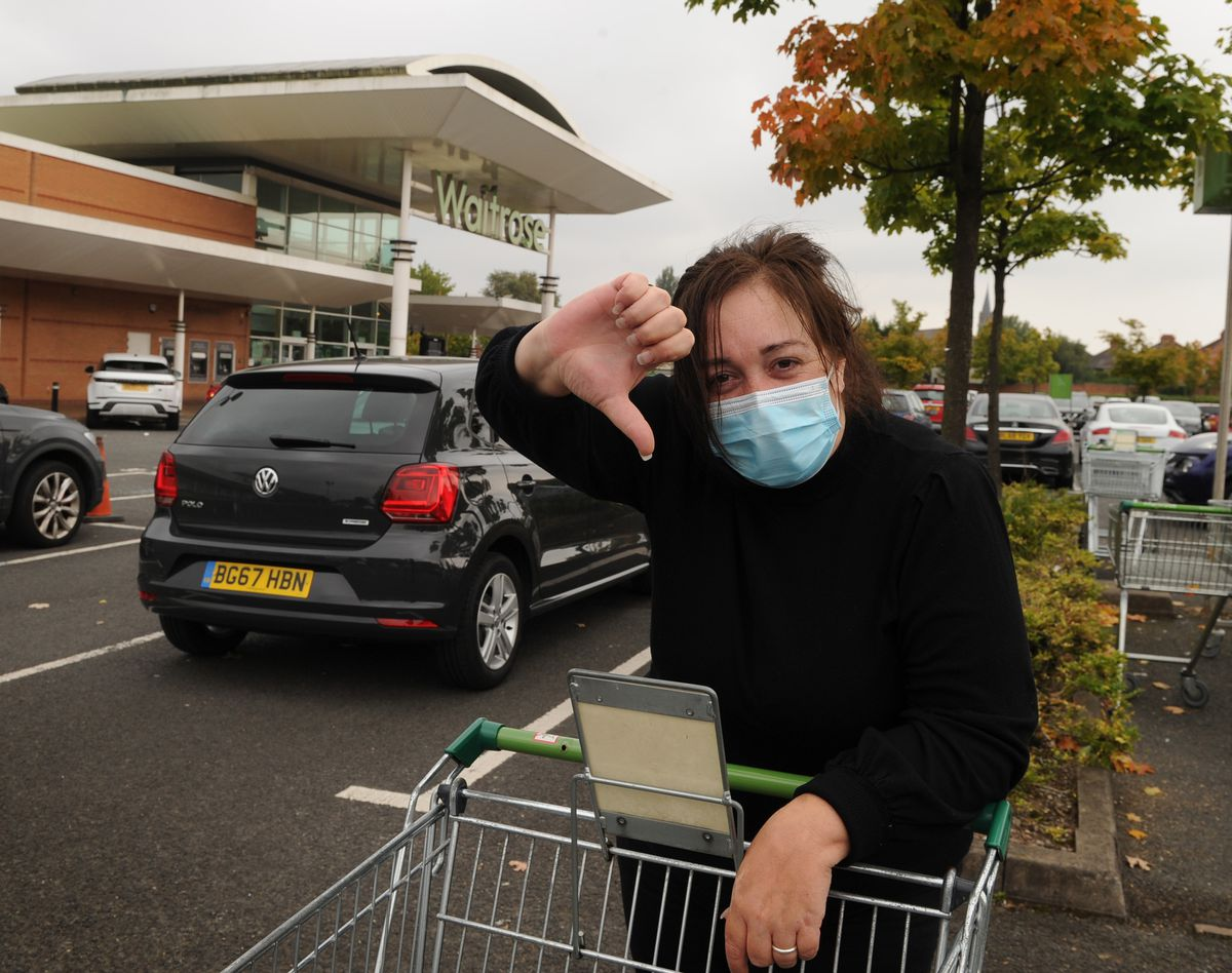Jeszemma Howl said Waitrose was a nicer shopping experience because she did not feel herded. She also said it had a pleasant and relaxed atmosphere.