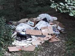 Forest rangers slam 'dangerous' fly-tippers at beauty spot
