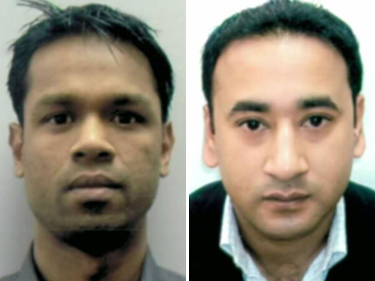 Sadiqur Rahman, left, and Mizanur Rahman