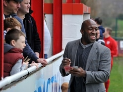 Darren Moore back with West Brom legends at charity match - GALLERY
