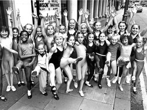 The successful candidates in auditions for the Grand's 1983 panto