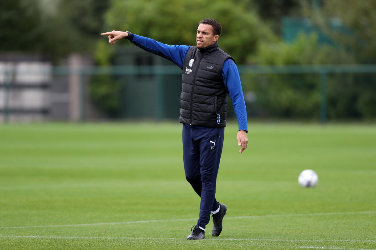 Valerien Ismael Head Coach / Manager of West Bromwich Albion. (Photo by Adam Fradgley/West Bromwich Albion FC via Getty Images).