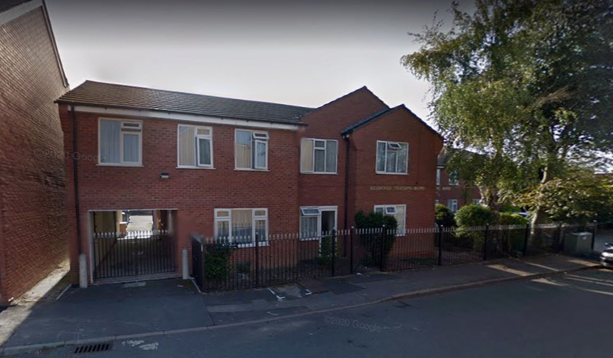 The former Redhouse Nursing Home in Redhouse Street, Walsall. PIC: Google Street View