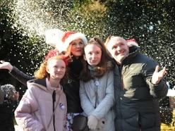 Winter wonderland brings Christmas cheer to Haden Hill House