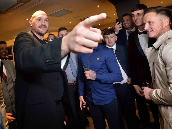 Tyson Fury in Wolverhampton: 'Gypsy King' proves he's not just a heavyweight in the ring - PICTURES and VIDEO