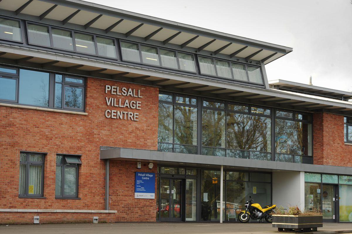 Pelsall Village Centre where Pelsall library is based