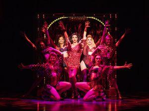 Kinky Boots cast. Photo by: Helen Maybanks
