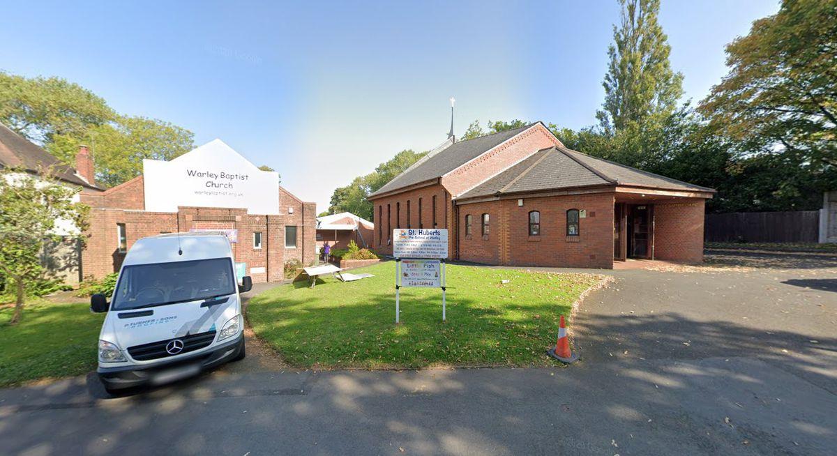 Warley Baptist Church. Pic: Google
