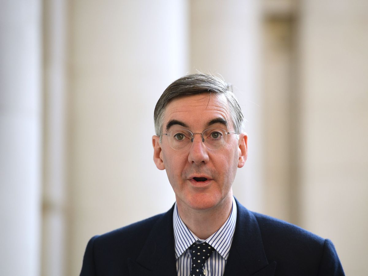 Leader of the House of Commons Jacob Rees-Mogg (Leon Neal/PA)