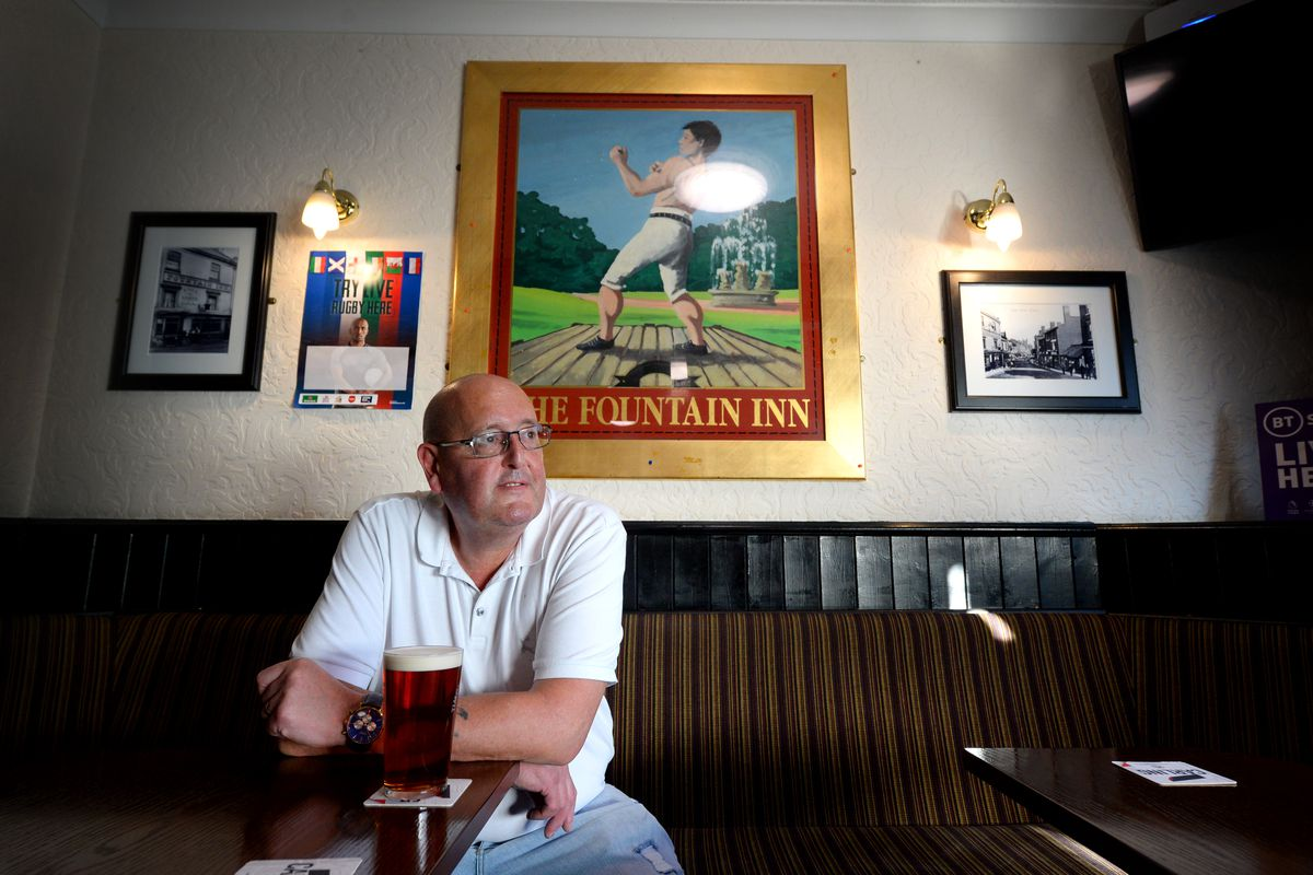 Steve Bennett, landlord of The Fountain Inn