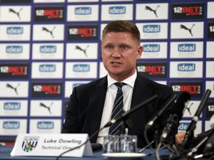 Sporting & Technical Director of West Bromwich Albion Luke Dowling.