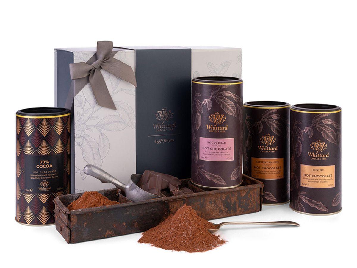 Whittard The Milk & Dark Hot Chocolate Gift Box