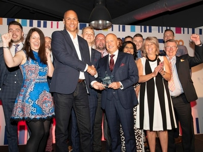 Bloom-ing marvellous! Top trophy for Wolverhampton menswear shop at city's WIRE Awards