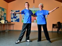 Toe tapping pair putting dancers through paces