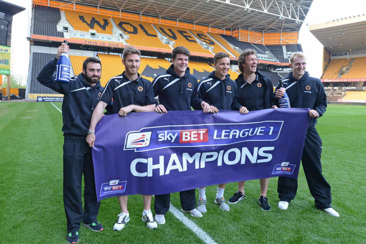 Wolves crowned League One Champions
