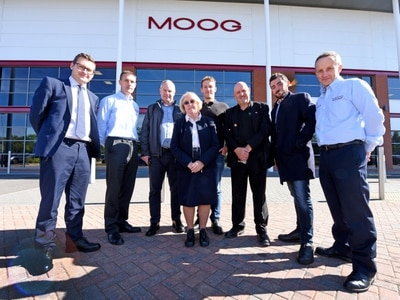 Moog opens its doors for hi-tech tour